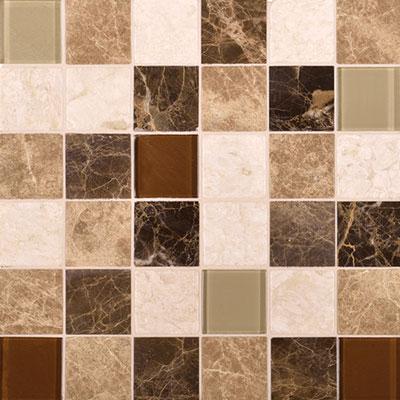 Daltile Melange Mosaic 2 x 2 Classic Tile & Stone