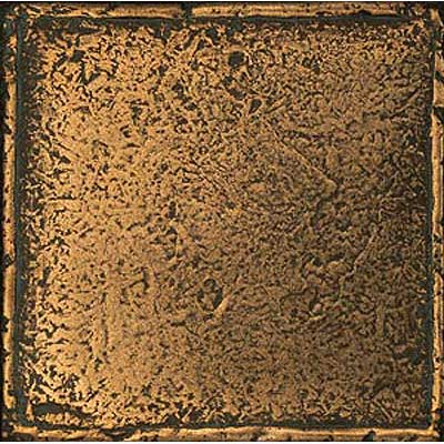 Daltile Metal Signatures Chateau 6 x 6 Aged Bronze Tile & Stone
