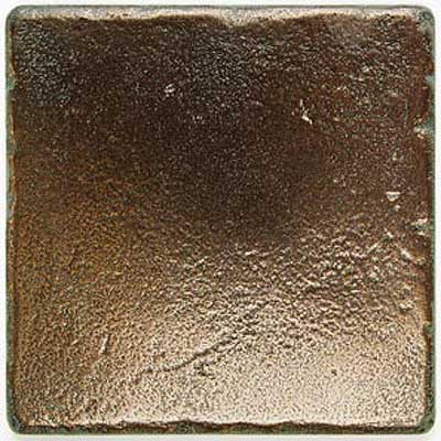 Daltile Metal Signatures Stone 4 x 4 Aged Bronze Tumbled Tile & Stone