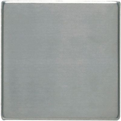Daltile Metallica - Metal Tile 4x4 Field Tile Brushed Stainless Steel Tile & Stone