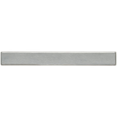Daltile Metallica - Metal Tile Liner Brushed Stainless Steel Tile & Stone