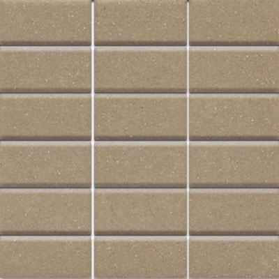 Daltile Modern Dimensions Mosaics 2 x 4 Elemental Tan Gloss Tile & Stone