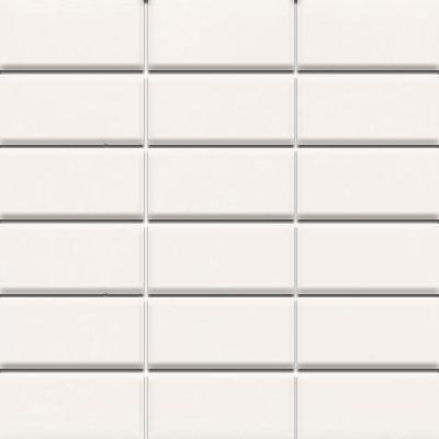 Daltile Modern Dimensions Mosaics 2 x 4 Artic White Gloss Tile & Stone