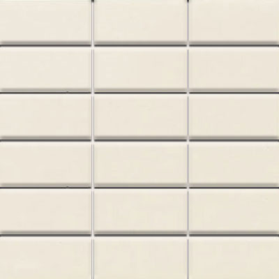 Daltile Modern Dimensions Mosaics 2 x 4 Biscuit Gloss Tile & Stone