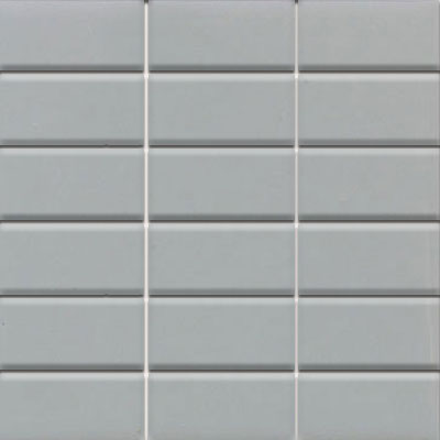 Daltile Modern Dimensions Mosaics 2 x 4 Desert Gray Gloss Tile & Stone