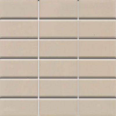 Daltile Modern Dimensions Mosaics 2 x 4 Urban Putty Gloss Tile & Stone