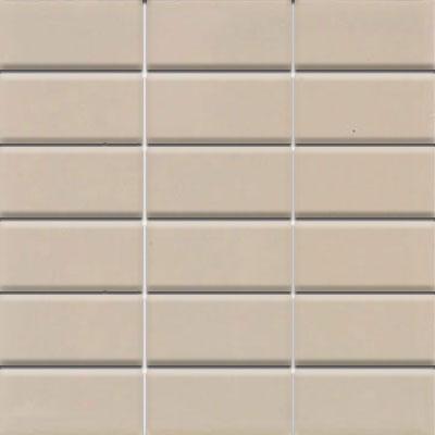 Daltile Modern Dimensions Mosaics 2 x 4 Urban Putty Matte Tile & Stone