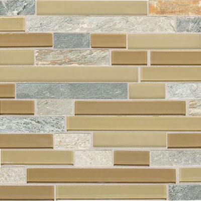 Daltile Mont Blanc 1 x Random Mosaic Universal Blend Tile & Stone