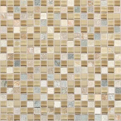 Daltile Mont Blanc 5/8 x 5/8 Mosaic Universal Blend Tile & Stone