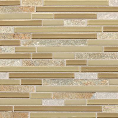 Daltile Mont Blanc 5/8 x Random Mosaic Universal Blend Tile & Stone