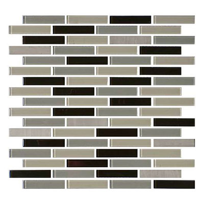 Daltile Mosaic Traditions 5/8 x 3 Brick Joint Mosaic Evening Sky Tile & Stone
