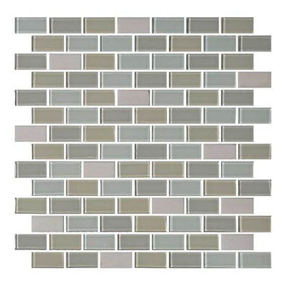 Daltile Mosaic Traditions 3/4 x 1 1/2 Brick Joint Mosaic Oasis Tile & Stone