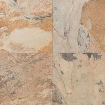 Daltile Tumbled Natural Stone Slate 12 x 12 TS71 Autumn Mist Tile & Stone