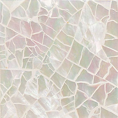 Daltile Ocean Jewels Crackled Mother Of Pearl Tile & Stone