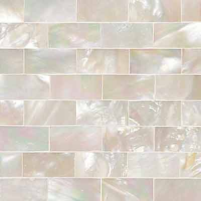 Daltile Ocean Jewels Running Board Mother Of Pearl Tile & Stone
