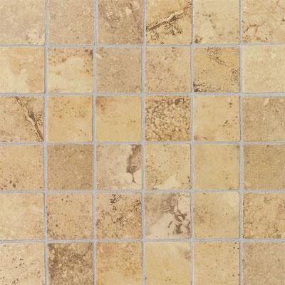 Daltile Pietre Vecchie Tumbled Mosaic 2 x 2 Golden Sienna Tile & Stone