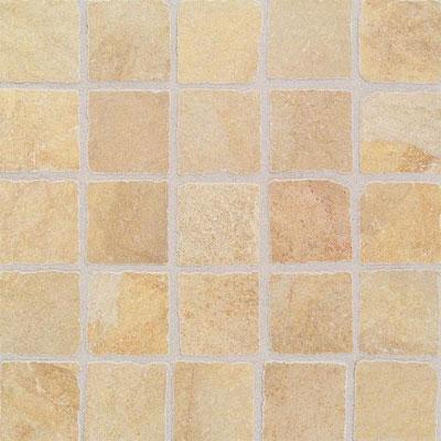 Daltile Portenza Mosaic 3 x 3 Oro Chiaro Tumbled Tile & Stone
