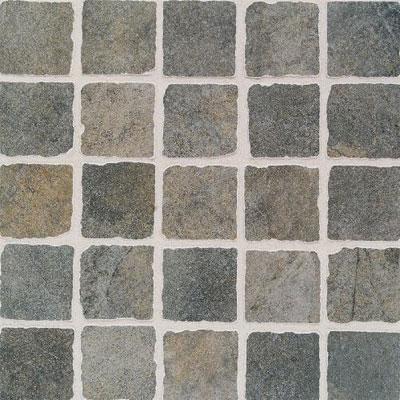 Daltile Portenza Mosaic 3 x 3 Verde Lago Tumbled Tile & Stone