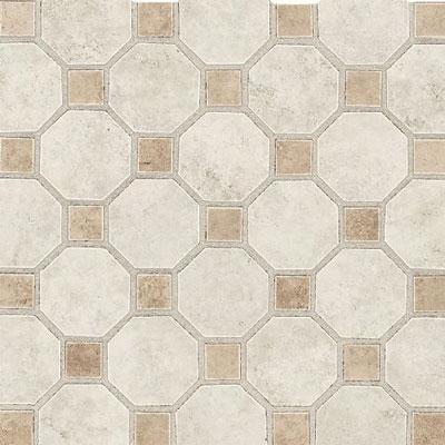 Daltile Salerno Mosaic Octagon w/Dot Grigio Perla Tile & Stone