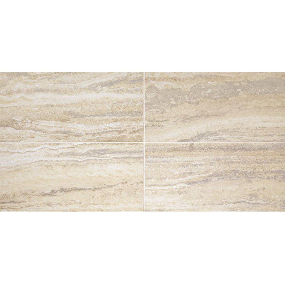 Daltile San Michelle 12 x 24 Vein Cut Crema Tile & Stone