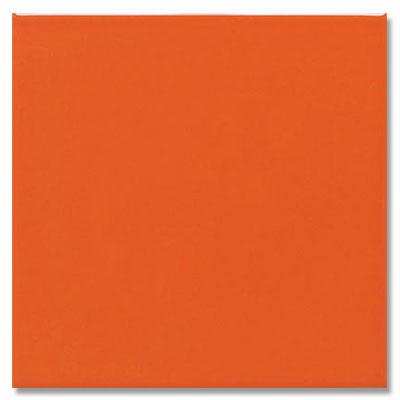 Daltile Semi-Gloss 4 1/4 x 4 1/4 Orange Burst Tile & Stone