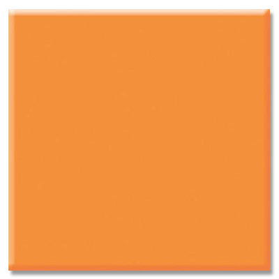 Daltile Semi-Gloss 4 1/4 x 4 1/4 Totally Tangerine Tile & Stone