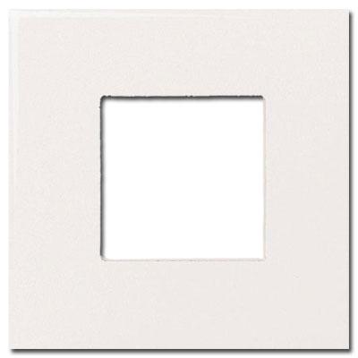 Daltile Fashion Accents Semi-Gloss Inserts Square White 4 x 4 Tile & Stone