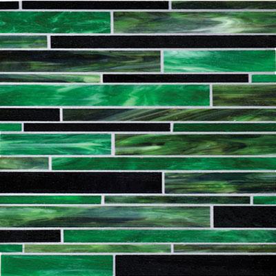 Daltile Serenade Random Mosaic Emerald City