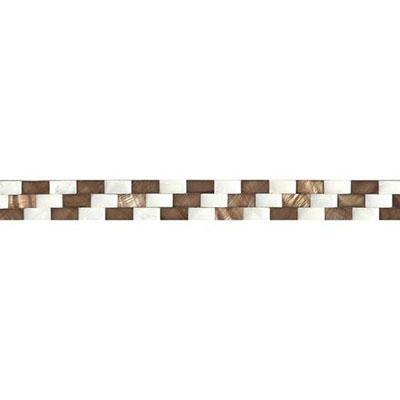 Daltile Shellscapes Tidal Waves 1 x 12 Tile & Stone