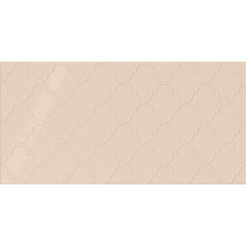 Daltile Showscape 12 x 24 Arabesque Almond Tile & Stone