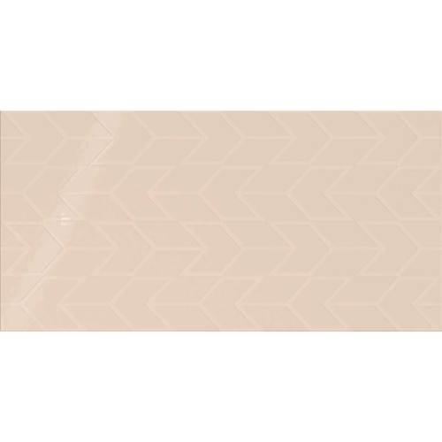 Daltile Showscape 12 x 24 Chevron Almond Tile & Stone