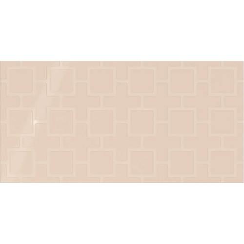 Daltile Showscape 12 x 24 Square Lattice Almond Tile & Stone
