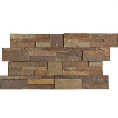 Daltile Slate Collection - Slate Stacked Stone Dynasty Mountain Tile & Stone