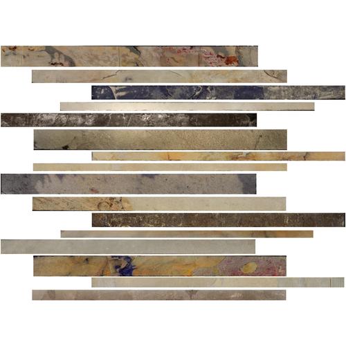 Daltile Slate Collection - Unique Shapes Autumn Mist Vertix Random Tile & Stone