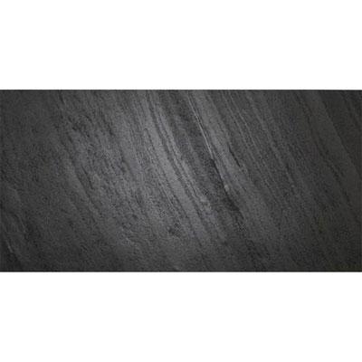 Daltile Slimlite Slate & Quartzite 12 x 24 Black Tile & Stone