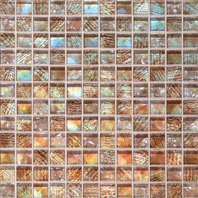 Daltile Soiree 1 x 1 Glass Mosaic Aruba Tile & Stone