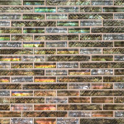 Daltile Soiree 5/8 Random Glass Mosaic Nevis Tile & Stone