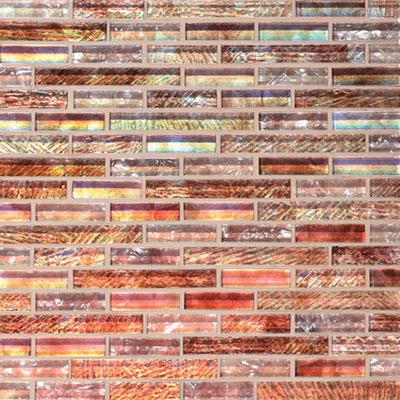 Daltile Soiree 5/8 Random Glass Mosaic Antigua Tile & Stone