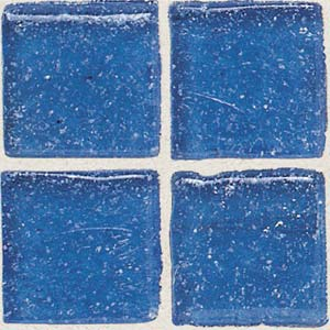 Daltile Sonterra Collection Mosaic Crystal Blue Opalized Tile & Stone