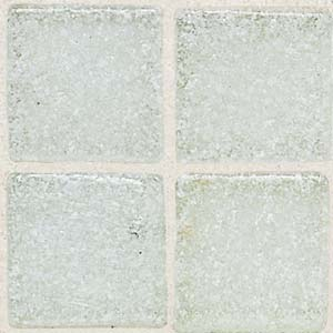 Daltile Sonterra Collection Mosaic Ice White Opalized Tile & Stone