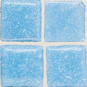 Daltile Sonterra Collection Mosaic Acapulco Blue Opalized Tile & Stone