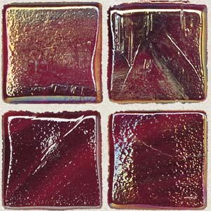 Daltile Sonterra Collection Mosaic Scarlet Opalized Tile & Stone