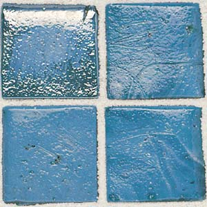 Daltile Sonterra Collection Mosaic Azul Verde Opalized Tile & Stone