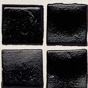 Daltile Sonterra Collection Mosaic Black Opalized Tile & Stone