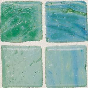 Daltile Sonterra Collection Mosaic Verde Opalized Tile & Stone