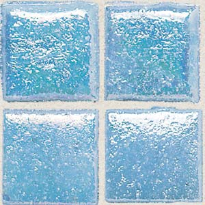 Daltile Sonterra Collection Mosaic Acapulco Blue Iridescent Tile & Stone