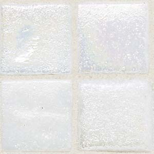 Daltile Sonterra Collection Mosaic Oyster White Iridescent Tile & Stone