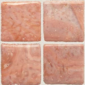Daltile Sonterra Collection Mosaic Rosa Iridescent Tile & Stone