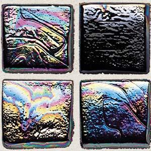 Daltile Sonterra Collection Mosaic Black Iridescent Tile & Stone