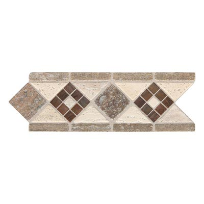 Daltile Fashion Accents Stone Combinations FA09 Burnished Honed Light Tile & Stone